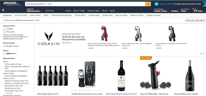 How to sell wine on Amazon | Baco Project