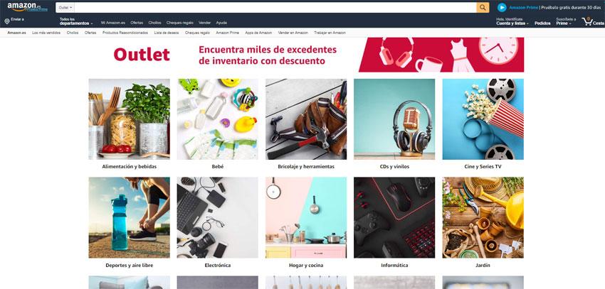 ¿Qué es Amazon Outlet? Descubre cómo funciona