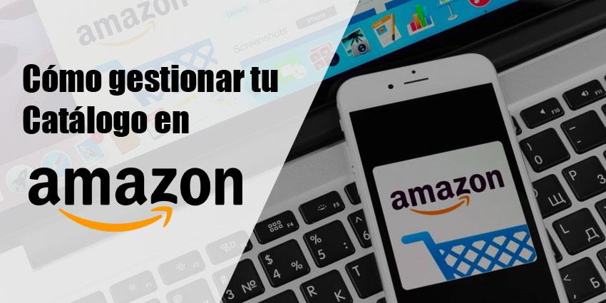 como gestionar en catalogo amazon