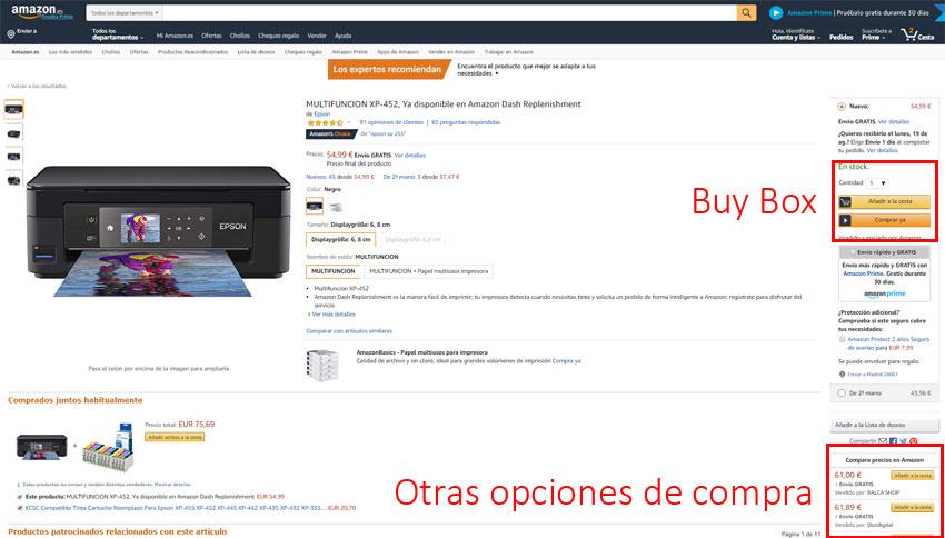 ¿Cómo Ganar la Buy Box de Amazon?