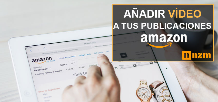 insertar videos en pagina de productos de amazon