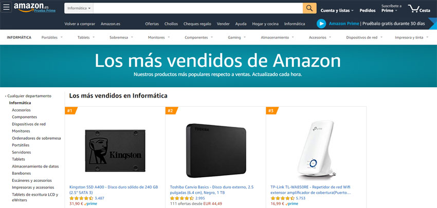 ¿Qué es el ranking de ventas en Amazon?