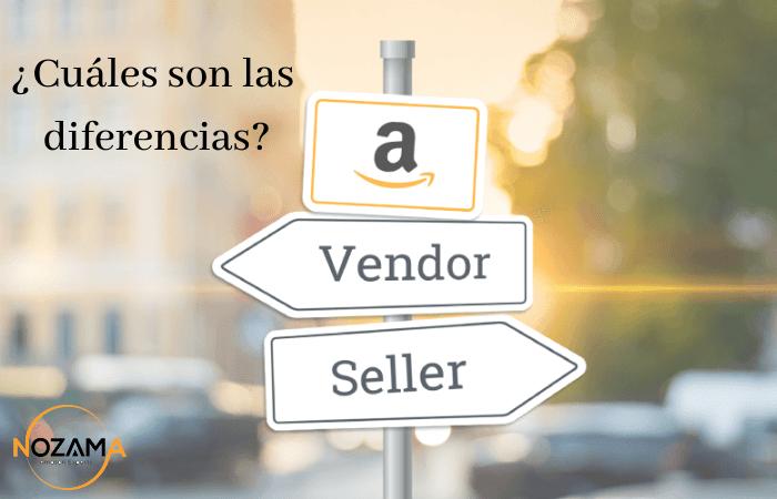 Diferencias seller y vendor en Amazon