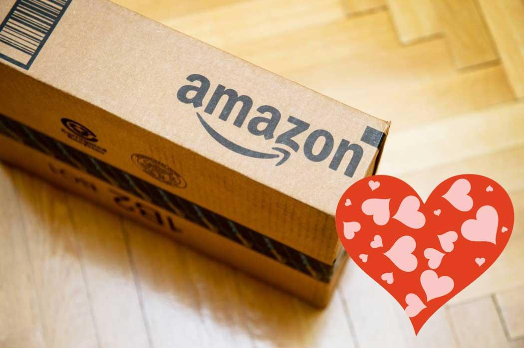 Lo más buscado en Amazon por San Valentín