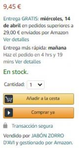 Buy box Amazon