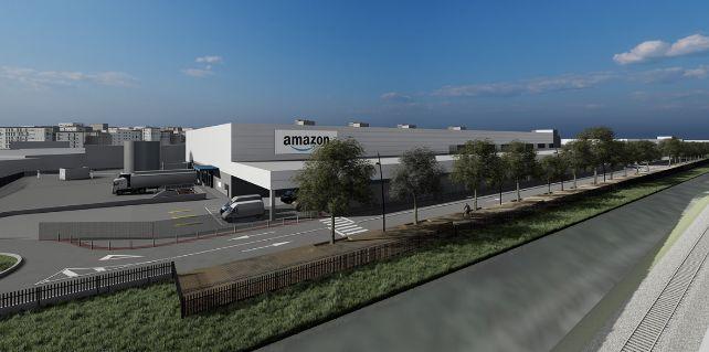 Estaciones logísticas Amazon en Barcelona
