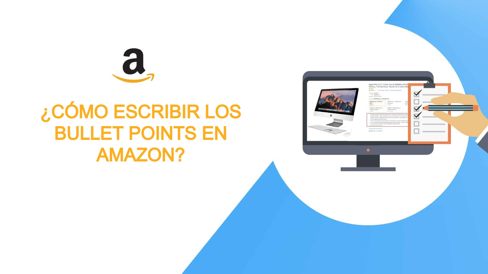 bullet points en Amazon