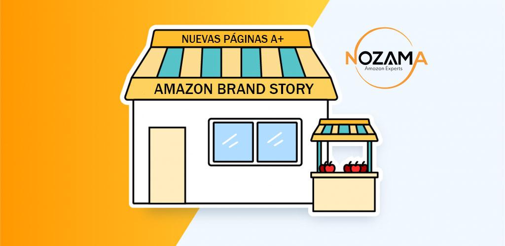 Nuevas páginas A+ Brand Story